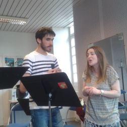 Clémence Mühlhäuser et David Postel