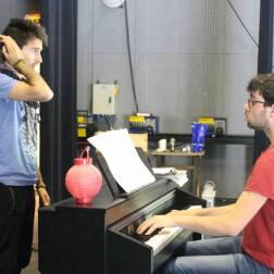Thibaut Givaja et Robin Le Bervet