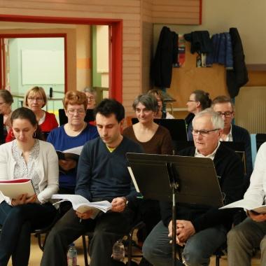 Requiem de Fauré - répétition
