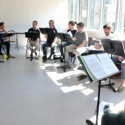 Répétition de l'ensemble Appoggio